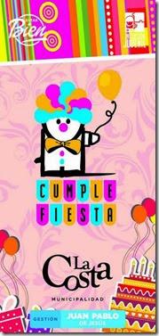 El 15 y el 22 se festejarán los cumpleaños de los más chicos en Mar de Ajó Norte y en Santa Teresita