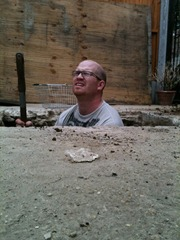 Danny in a hole