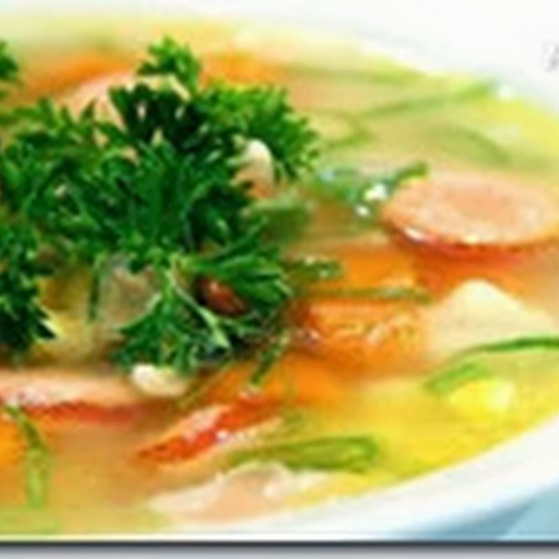Resep Membuat Sup Sosis Jagung