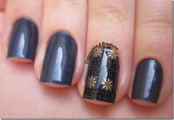 Novo azul   protector nail