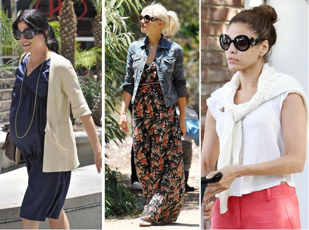 Prada Baroque Sunglasses Selma Blair Gwen Sefani Eva Mendes