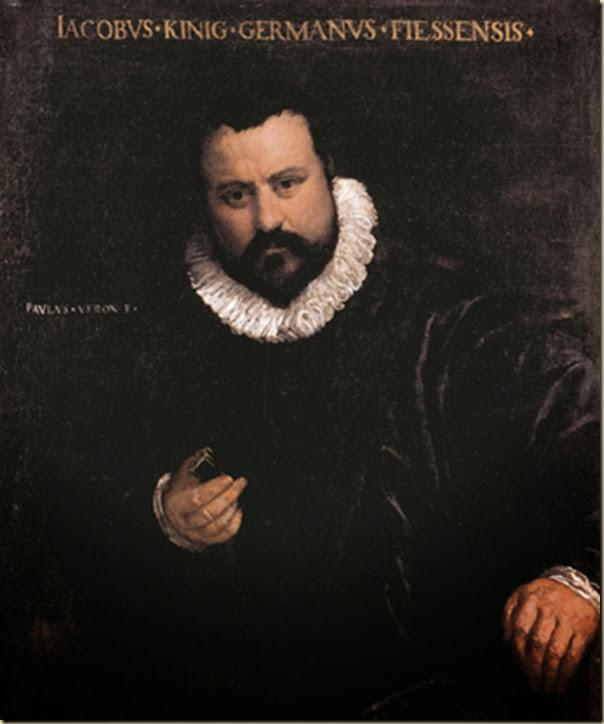 Veronese, Portrait d'orfèvre Kinig