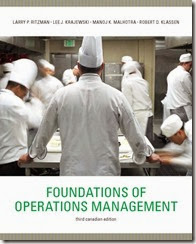 Solution Manual for Foundations of Operations Management 3rd Canadian Edition Larry P. Ritzman Lee J. Krajewski Manoj K. Malhotra Robert D. Klassen