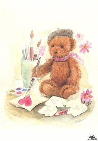 Jaana Renvall teddy bear