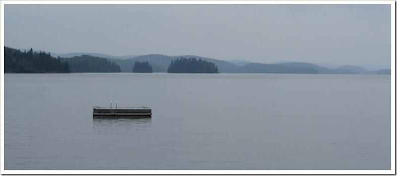 Lac Taureau - canadaventure -vue de la plage2