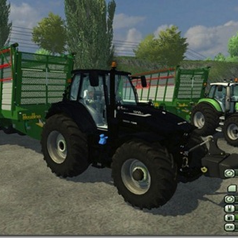 Farming simulator 2013 - Agrotron7250 V 1.3 BLACK BEAUTY