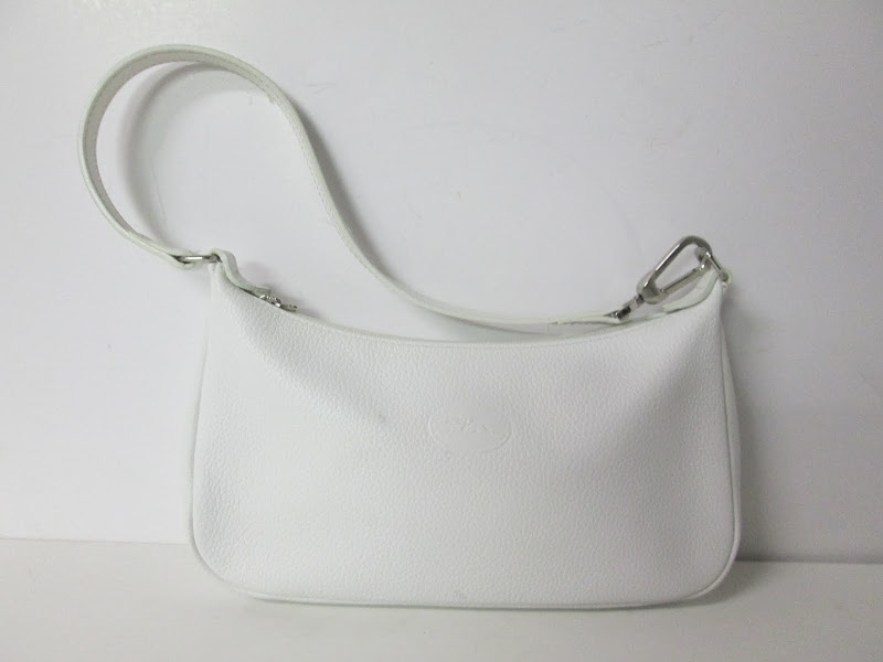 Longchamp White Handbag