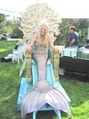 Cape Cod Columbus weekend 2012..apple festival giovanna mermaid 1