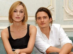 Orlando Bloom and Keria Knightley