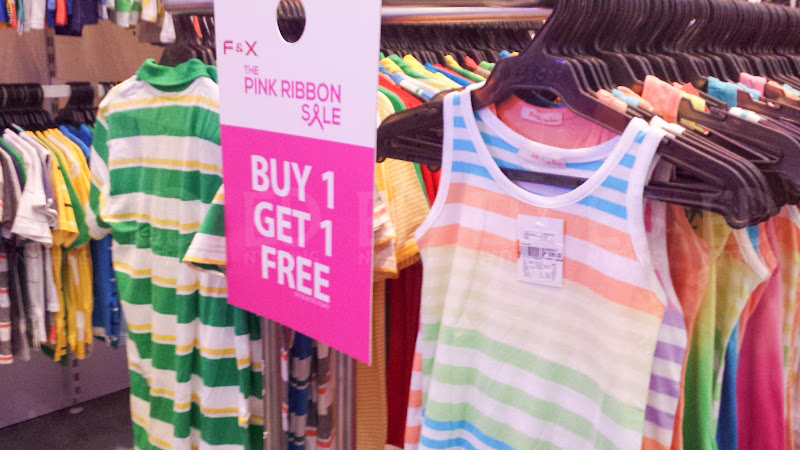 Bench Pink Ribbon Sale 14