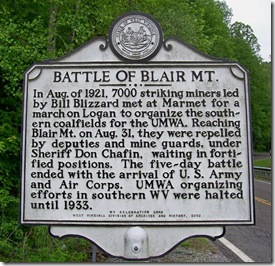 BattleofBlairMountain