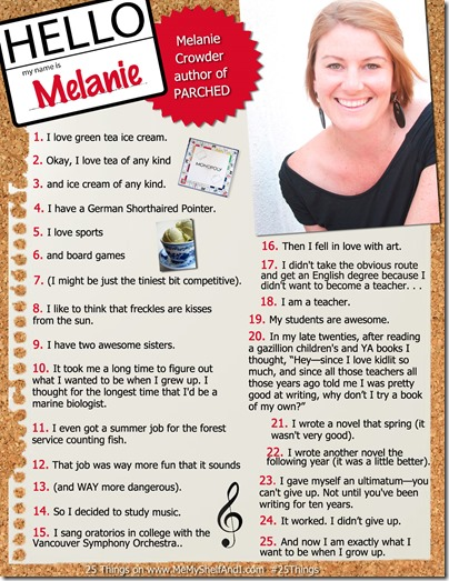 MelanieC25Things