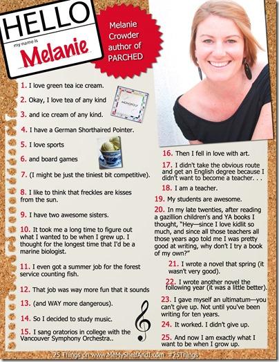 MelanieC25Things