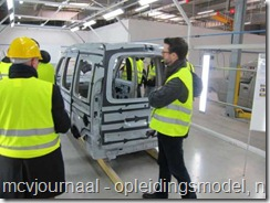 Opleiding Fabriek Dacia Lodgy 10