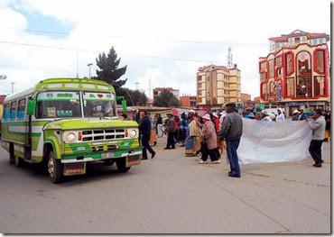 Choferes delincuentes en El Alto