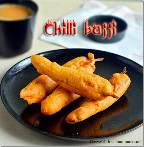 chilli bajji recipe