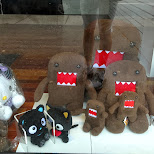 domo-chan at downtown Vancouver in Vancouver, British Columbia, Canada