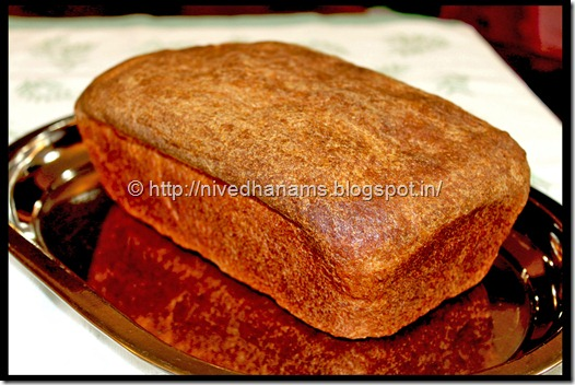Whole Wheat Honey Buttermilk Bread - IMG_3585