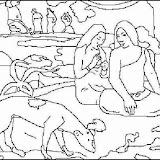 """Pasatiempo 1892"" de Paul Gauguin"