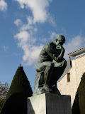 """The Thinker"" by Auguste Rodin"