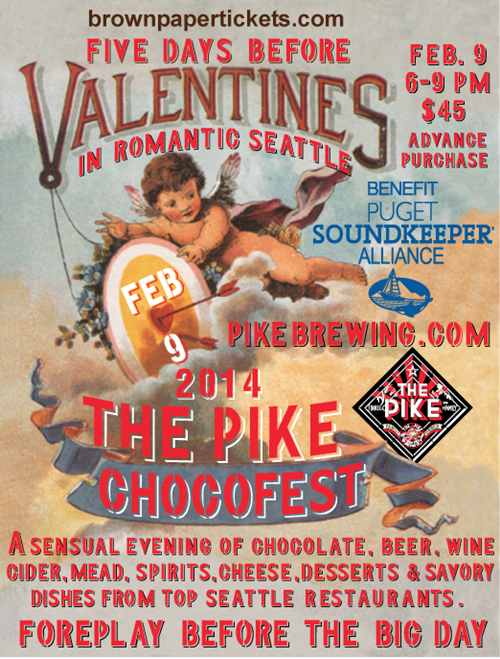 image sourced from Pike Brewing's Events website