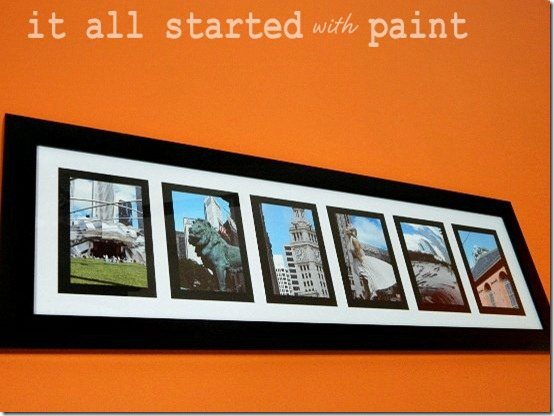 Teen Room Orange Gray Black Chicago Art