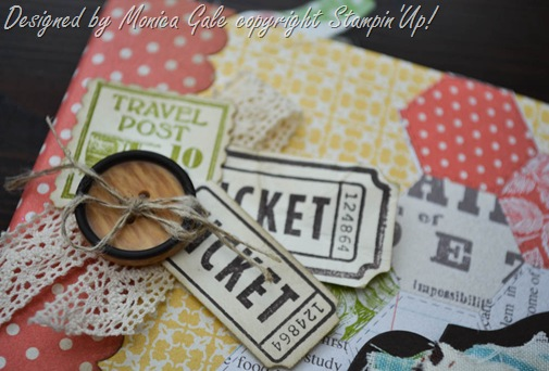 Stampin'Up!album detail