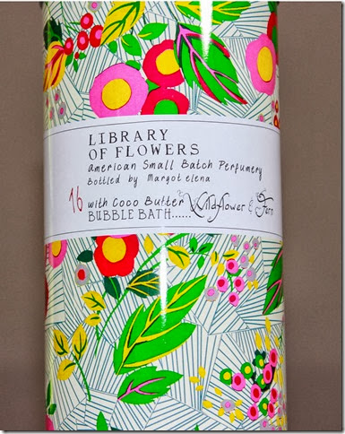 Library of Flowers Bubble Bath 2