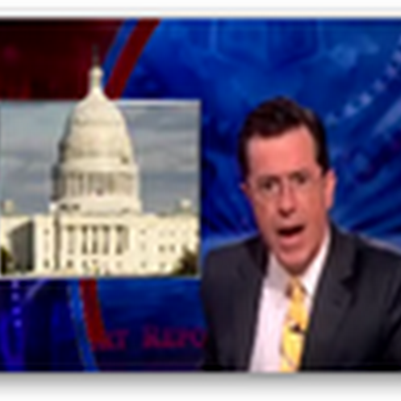 US Congress Speaks at a Literacy Level of High School Sophomores–Colbert on Sunlight Foundation Study