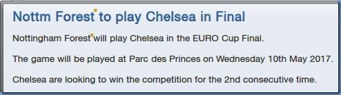 Chelsea Europa League final