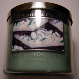 Slatkin & Co. Mint Chocolate Candle
