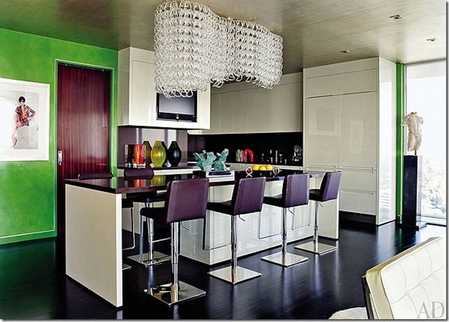 elton john and david furnish's la kitchen