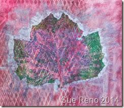 Sue Reno, Sycamore print 2