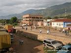 Un quartier de la cité d'Uvira, dans la province du Sud-Kivu (RDC).