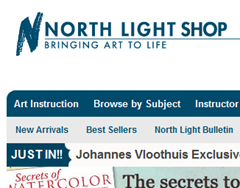 7 Places Online To Buy Art Materials. North Light Shop