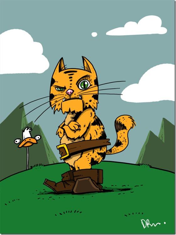 El Gato con Botas,El gato maestro,Cagliuso, Charles Perrault,Master Cat, The Booted Cat,Le Maître Chat, ou Le Chat Botté (146)