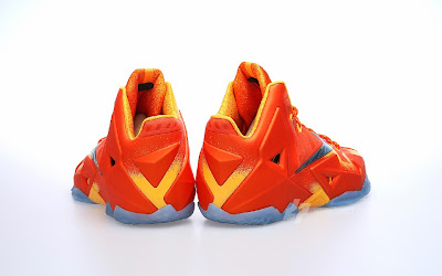nike lebron 11 gr atomic orange 2 04 forging iron A Sizzling Look at Nike LeBron XI Forging Iron