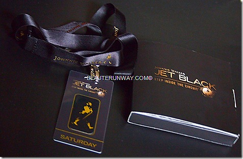 JOHNNIE WALKER JET BLACK Party Formula One Singapore