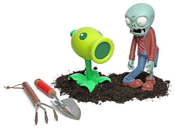 Plants vs Zombies Lawn Ornaments from ThinkGeek