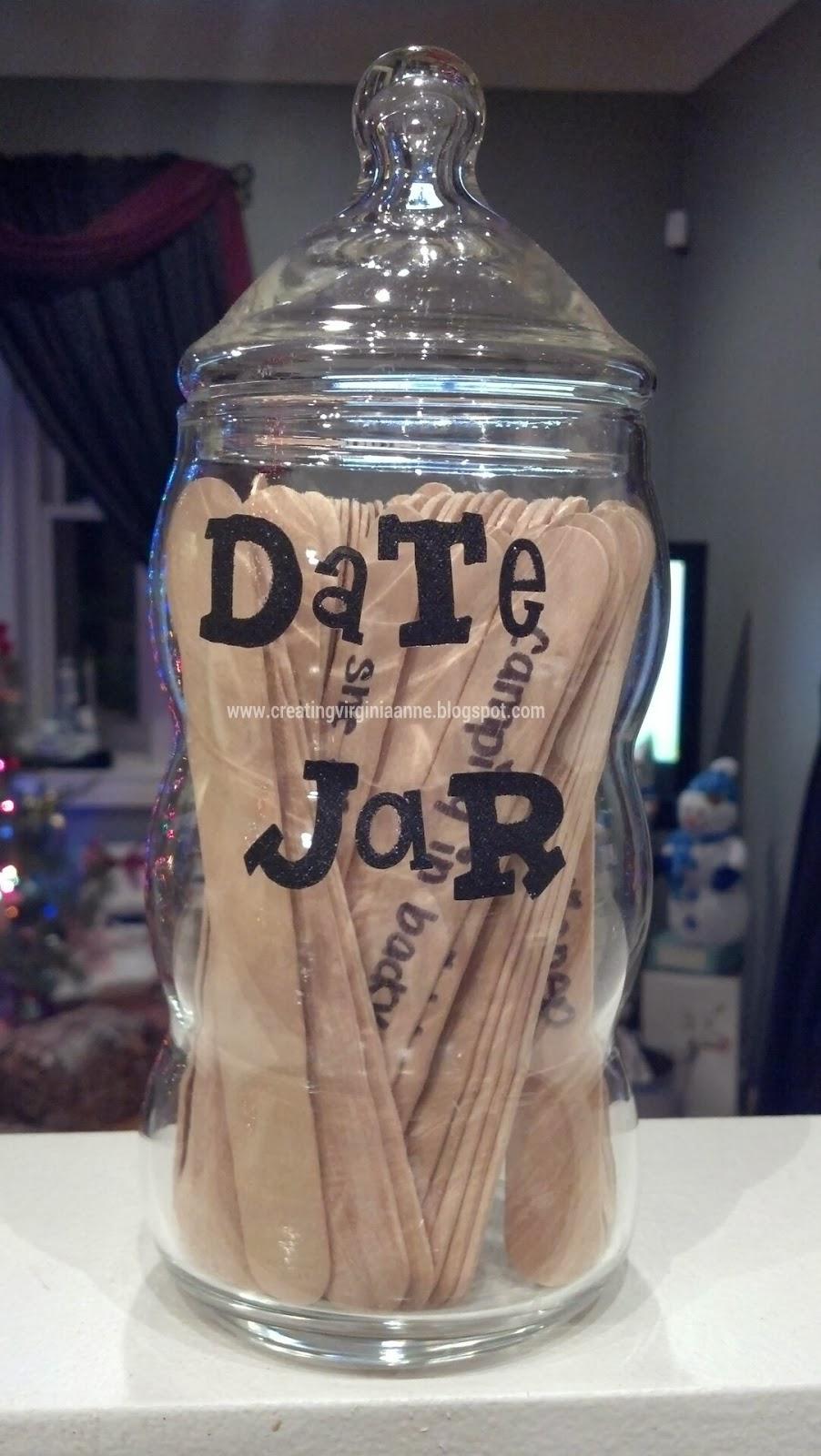 Present Idea - DIY Date jar
