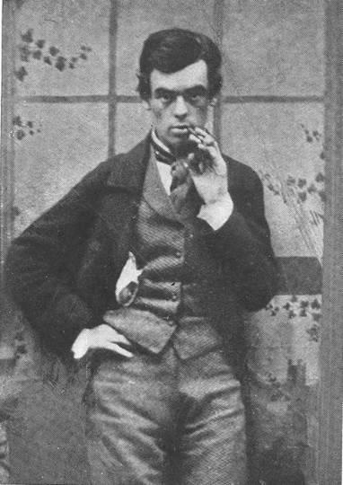 Ο Σάμιουελ Μπάτλερ, φωτογραφημένος το 1858.