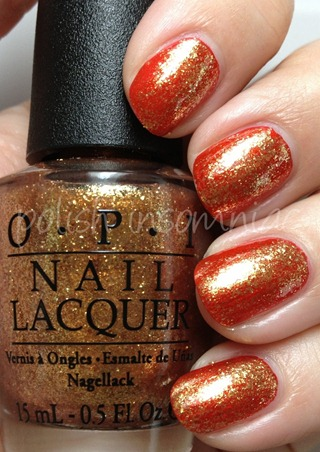 OPI Goldeneye over Die Another Day