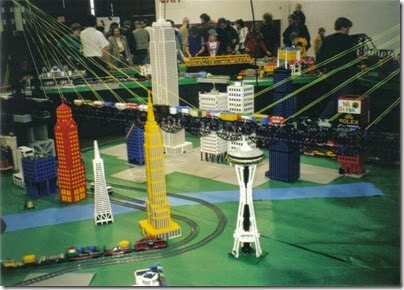 02 Lego Display at GATS in Puyallup, Washington in November 2000