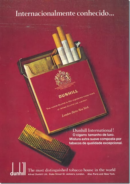 cigarros dunhill