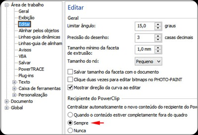 centralizar-conteudo-powerclip