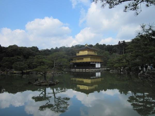 Obiective turistice Japonia: pavilionul de aur Kyoto.JPG