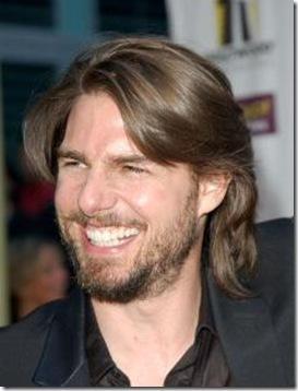 Pelo Largo Para Hombre Estilo Tom Cruise Cortes De Pelo Para