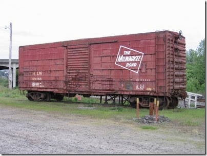 IMG_6465 Milwaukee Road Boxcar #33283 at Chehalis on May 12, 2007