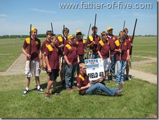 The Jordan Junior Varsity Trap Shooting Team