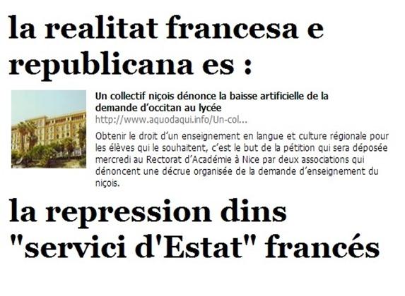 repression francesa contra l'occitan